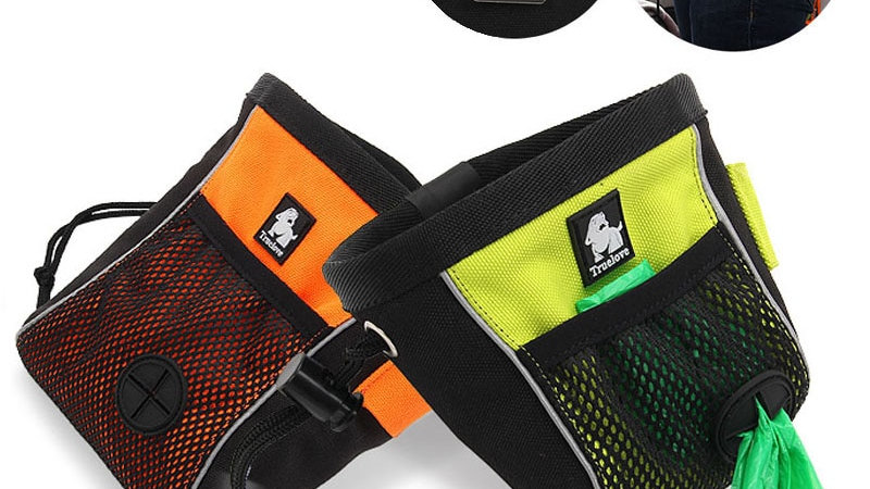 Truelove Portable Travel Dog Snack Treat Bag