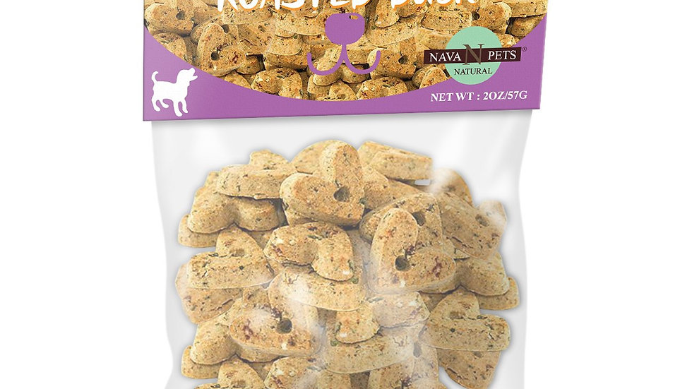 Nava Pets All-Natural Roasted Duck Grain-Free Dog Treats - 2OZ