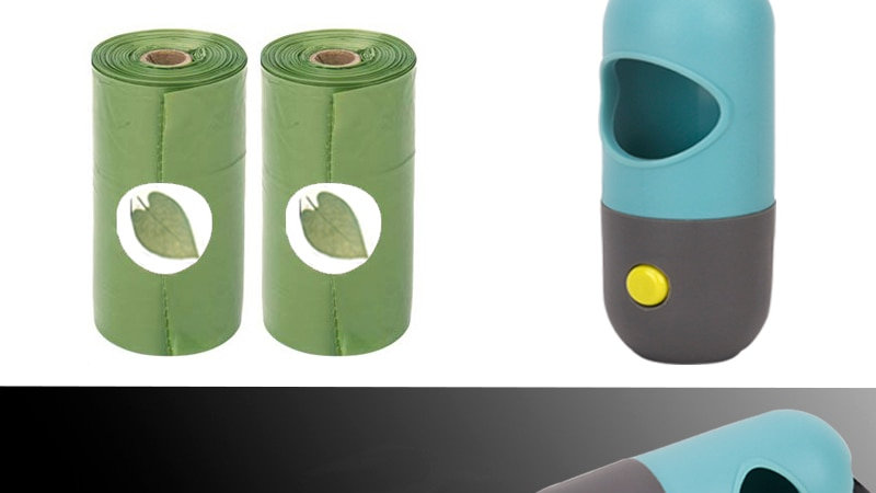 LED dispenser (batteries not included)