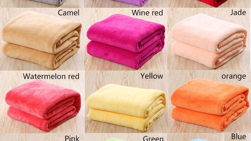HEYPET Soft Coral Fleece Pet Blanket