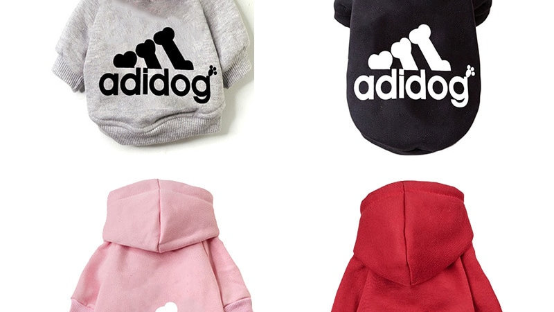 Fashion Dog Hoodie Winter