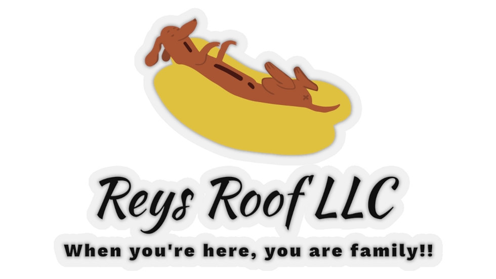 Reys Roof Kiss-Cut Stickers