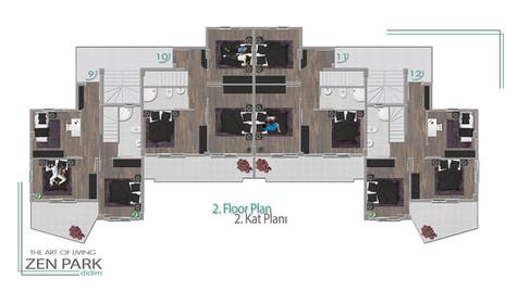 2. Floor Plan (2. Kat Planı)