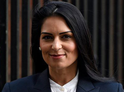 Newly appointed British Home Secretary Priti Patel steps down as Accloud's Non-Executive Director