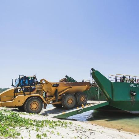 Dunk Island Works Under Way to Rebuild the Spit Bar