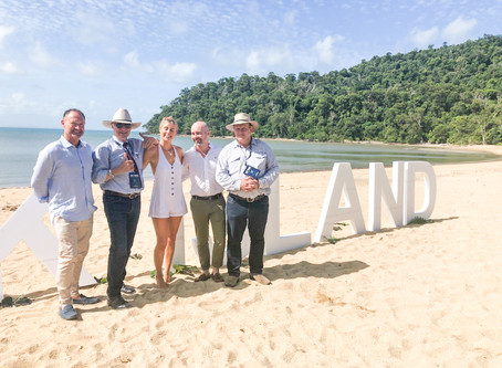 Dunk Island comes to life for a special celebration