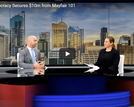 Public Democracy Secures $10m from Mayfair 101