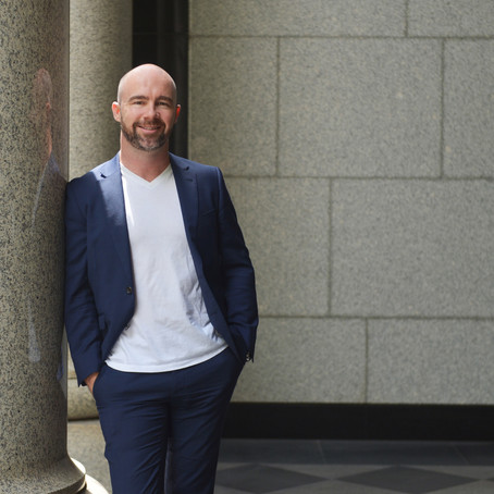 The Top 100 Magazine (Finance Edition) features James Mawhinney