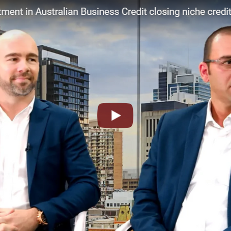 Mayfair 101's investment in Australian Business Credit closing niche credit gaps