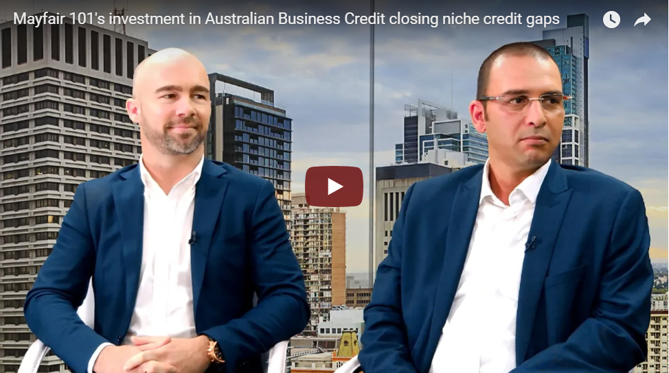 Mayfair 101's investment in Australian Business Credit
