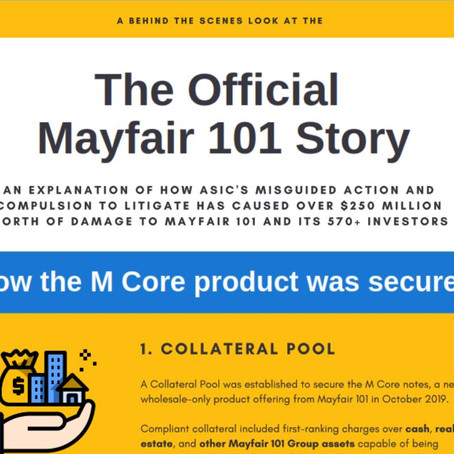 Infographic - Inside The Official Mayfair 101 Story
