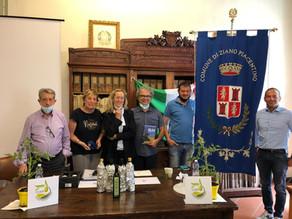 Ziano Piacentino (PC)   …COER il Consorzio Olio Extravergine di Oliva Emilia-Romagna si … presenta!