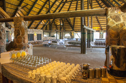 Dining Hall set-up for an event