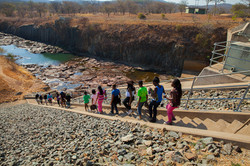Hike to the dam