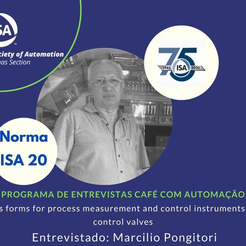 Café Com Automação Norma ISA 20