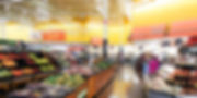 Som ambiente para supermercado