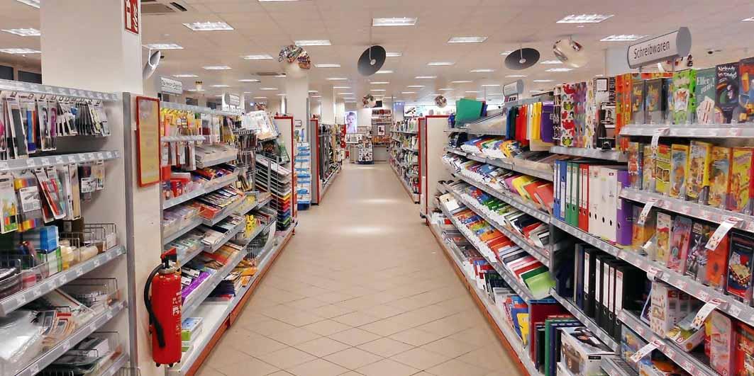 som ambiente lojas grandes