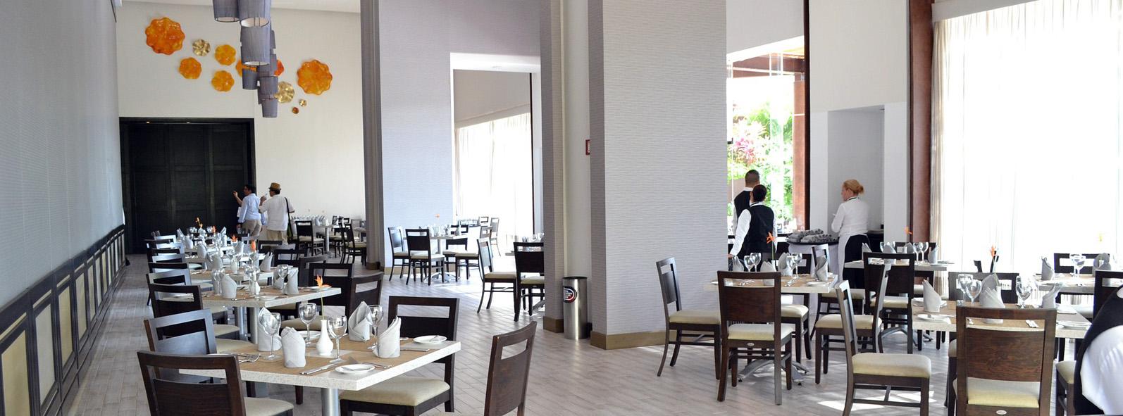 Som ambiente em restaurante
