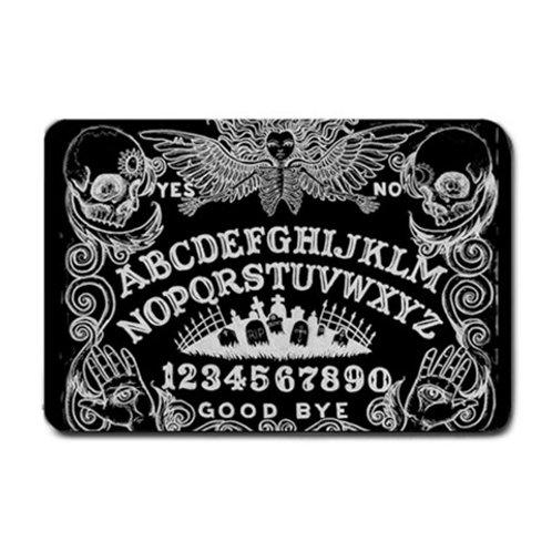 Ouija Board door mat in Black