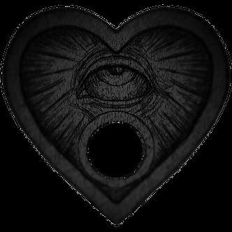 Mystic Eye Planchette for Ouija Boards