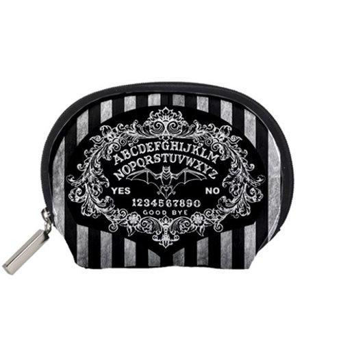 Ouija board Baroque and stripe accessory bag
