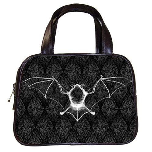 Bat Damask handbag