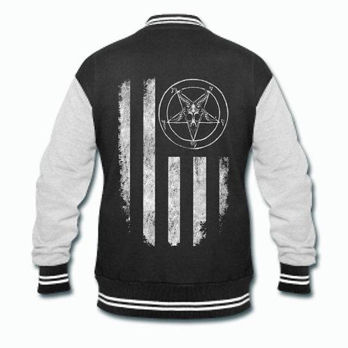 Baphomet Nation Varsity jacket