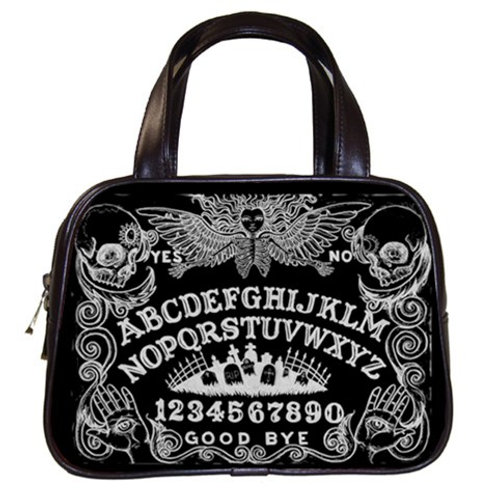 Ouija hand bag black