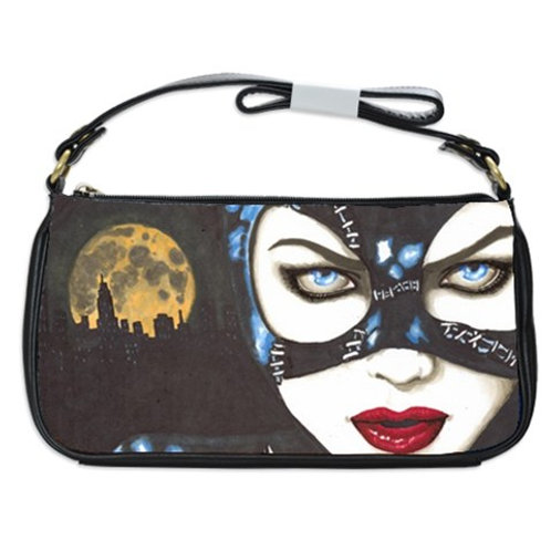 Cat Woman Shoulder Clutch