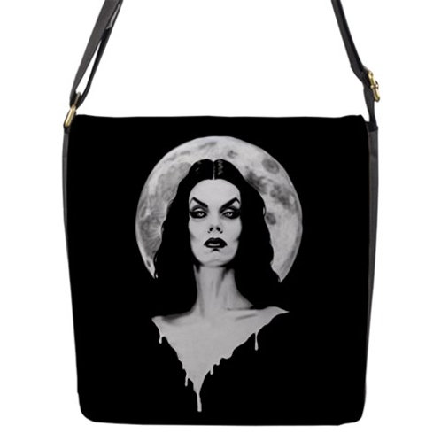 Vampira Messenger Flap Bag