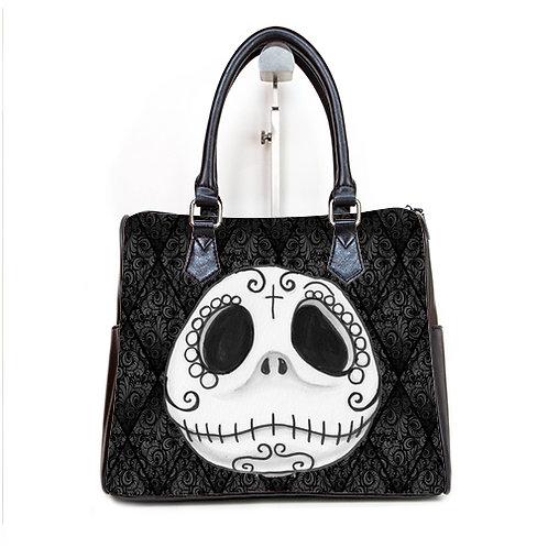 Jack Skellington Barrel Style Handbag