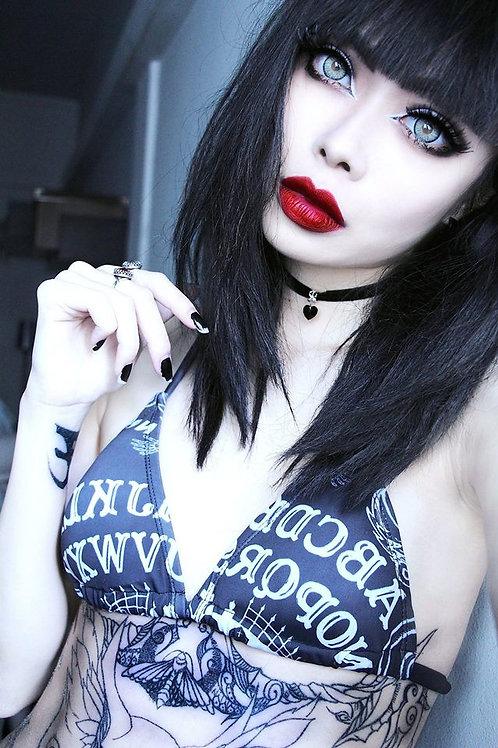Ouija Board bikini in black