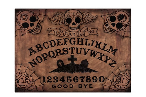 Ouija DOD Cutting Board
