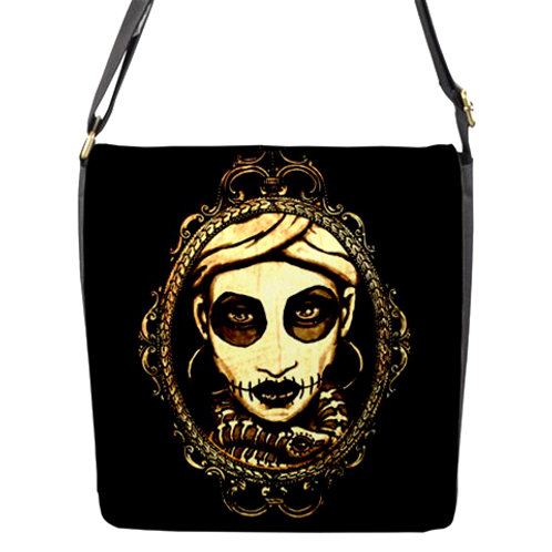 Marie Laveau messenger bag
