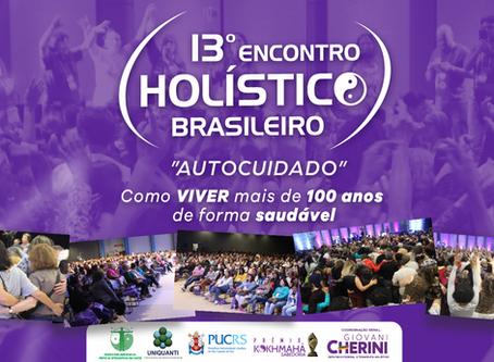 O Instituto Henrique Amaral participará do 13º Encontro Holístico Brasileiro