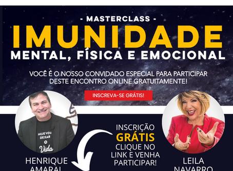 Um super encontro com Henrique Amaral e Leila Navarro
