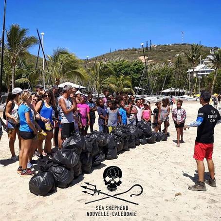 ⚠️ 1 sac de déchets rempli toutes les 3 minutes...