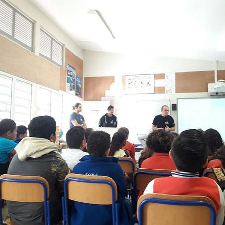Sensibilisation à l'école Briqueterie au Vallon dore - 6 juillet -