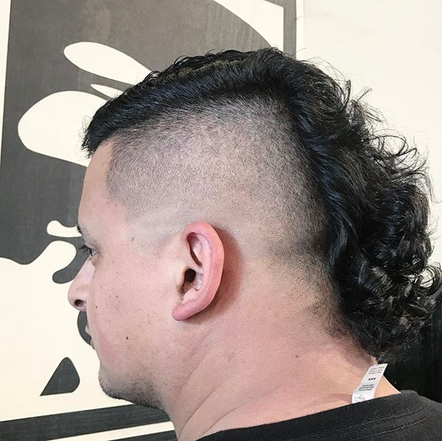 faded mullet
