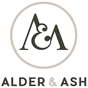 Alder and Ash Logo white stroke.png