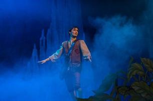 Jack (Paul Cuschieri) walking on clouds.