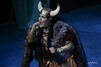 Chief Big Red played by Marta Vella.