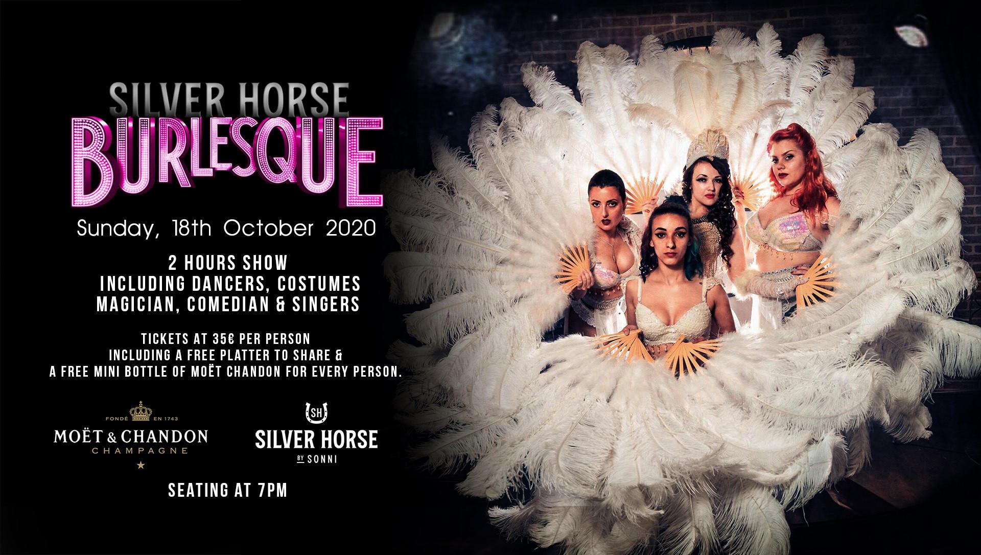 Silver Horse Burlesque - Sunday, 18th October