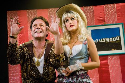 David Burt as Scoresleazy with Sophia Thierens as Sanddy