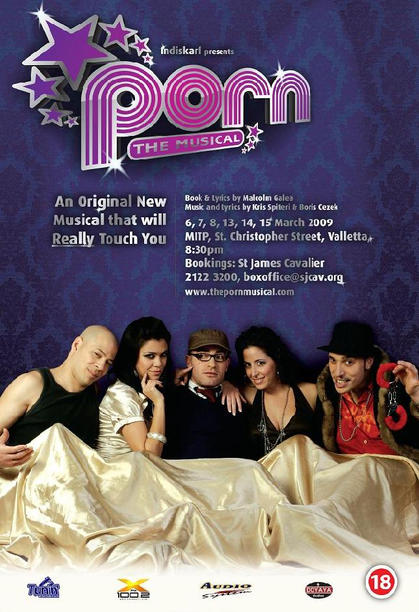 Poster for the first performance in 2009 at the MITP, Valletta