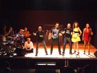 The Edinburgh Fringe cast and band
