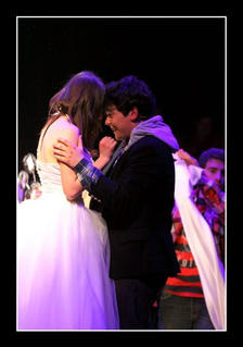 Romeo and Juliet (David Chircop & Vanessa Gatt) marry secretly in an underground chapel