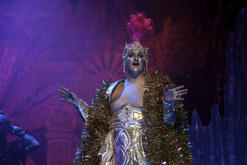 The Genie of the Lamp played by Luke Dalli.