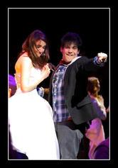 Juliet and Romeo (Vanessa Gatt & David Chircop) at their secret wedding