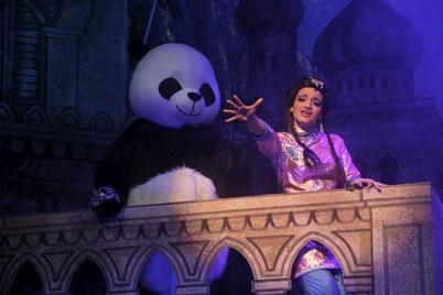 The Princess (Dorothy Bezzina) with her faithful Panda.
